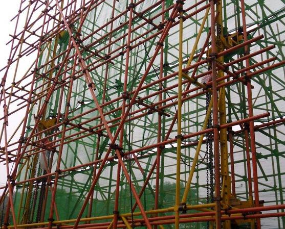 武汉脚手架搭建工程案例